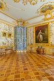 Interiores de Tsarskoe Selo Fotografía de archivo libre de regalías