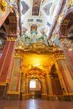 Interiores del monasterio de Jasna Gora en Czestochowa Fotografía de archivo