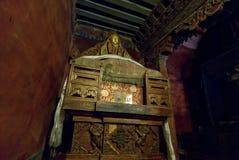 Interiores del palacio imagen de archivo