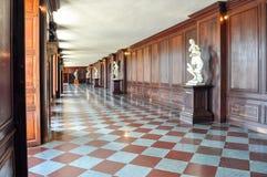 Interiores del palacio de Hampton Court, Londres, Reino Unido imagen de archivo libre de regalías