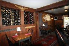 Interiores del Pub Foto de archivo libre de regalías
