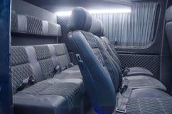 Interiores desde detr?s del coche imagen de archivo libre de regalías