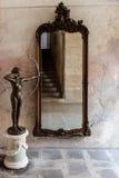 Interiores do castelo e fora no Polônia Imagens de Stock Royalty Free