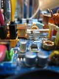 Interiores do Desktop fotografia de stock