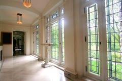 Interiores do edifício Imagem de Stock Royalty Free