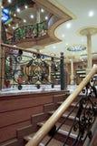 Interiores do hotel imagens de stock