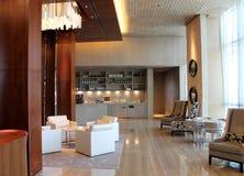 Interiores do hotel de luxo Fotografia de Stock Royalty Free