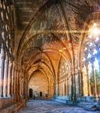 Interiores do La Seu Vella Cathedral Imagem de Stock