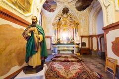 Interiores do monastério de Jasna Gora em Czestochowa Fotografia de Stock