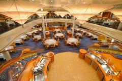 Interiores do restaurante Fotografia de Stock