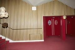 Interiores do teatro de REGIO em Turin imagem de stock royalty free