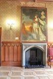 Interiores dos salões no palácio de Vorontsov em Alupka, Crimeia Imagens de Stock Royalty Free