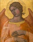 Interiores e detalhes de catedral de Siena, Siena, Itália Fotos de Stock Royalty Free