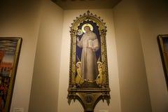 Interiores e detalhes de catedral de Siena, Siena, Itália Imagem de Stock Royalty Free