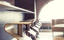 Interiores elegantes da barra Foto de Stock Royalty Free