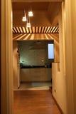 Interiores modernos - cocinas Imagen de archivo