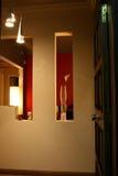 Interiores modernos - entradas Imágenes de archivo libres de regalías