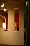 Interiores modernos - entradas Imagens de Stock Royalty Free