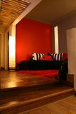 Interiores modernos (salas de visitas) Imagem de Stock