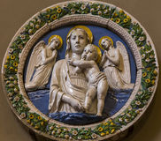 Interiores y detalles del Bargello, Florencia, Italia Foto de archivo libre de regalías