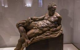Interiores y detalles del Bargello, Florencia, Italia Fotos de archivo libres de regalías