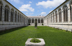 Interiores y detalles del Camposanto, Pisa, Italia Imágenes de archivo libres de regalías