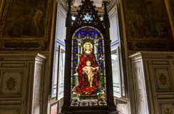 Interiores y detalles del museo del Vaticano, Ciudad del Vaticano Imagen de archivo libre de regalías