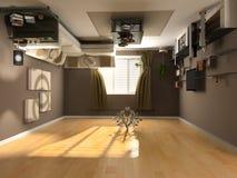 interioreverse Royaltyfria Foton