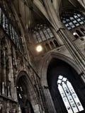 Interiori da igreja de York - Inglaterra fotografia de stock