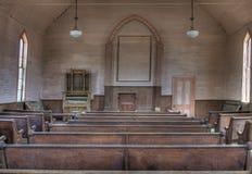 Interiori della chiesa Fotografia Stock Libera da Diritti
