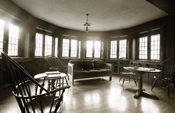Interiori domestici di lusso Immagine Stock
