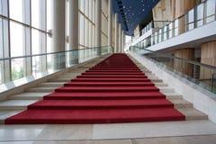 Interiori moderni con le scale Immagine Stock Libera da Diritti