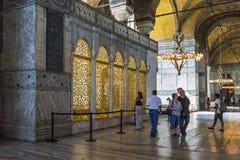 Interiorof Hagia Sophia, Стамбул Стоковые Фотографии RF