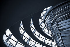 Interiors. Abstract made in buildings interiors Royalty Free Stock Photography