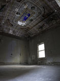 Interiors of an abandoned madhouse Royalty Free Stock Photo