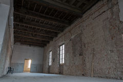 Interiors of an abandoned madhouse Stock Photography