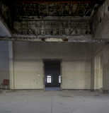 Interiors of an abandoned madhouse Royalty Free Stock Image