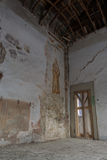 Interiors of an abandoned madhouse Royalty Free Stock Photos