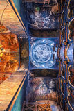Interiors of the Assumption Cathedral in Rostov Stock Photos