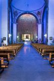 Interiors of a basilica, Basilica Of Our Lady Of Royalty Free Stock Images