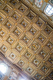Interiors of Basilica of St. Mary Major in Rome Royalty Free Stock Photography