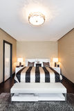 Interiors, bedroom Royalty Free Stock Images