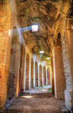 Interiors of the Capua Amphitheatre. Santa Maria Capua Vetere, Italy Stock Photos