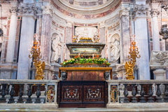 Interiors of Cathedral at the Leaning Tower of Pisa Royalty Free Stock Images