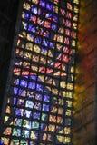 Interiors of cathedral of Rio De Janeiro (San Sebastian) Stock Photos