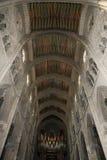 Interiors of the Cathedral of Santa Maria la Real de la Almudena, Madrid, Spain Stock Images