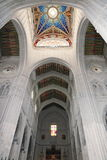 Interiors of the Cathedral of Santa Maria la Real de la Almudena, Madrid, Spain Stock Photo