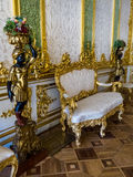 Interiors of Catherine Palace in Pushkin Stock Photography