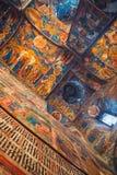 Interiors of Church of Elijah the Prophet in Yaroslavl Royalty Free Stock Images