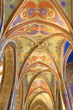 Interiors of the Church of St. Peter and Paul at Vyšehrad, Prague, Czech Republic Stock Image